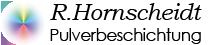 R. Hornscheidt Pulverbeschichtung Logo für Mobilgeräte